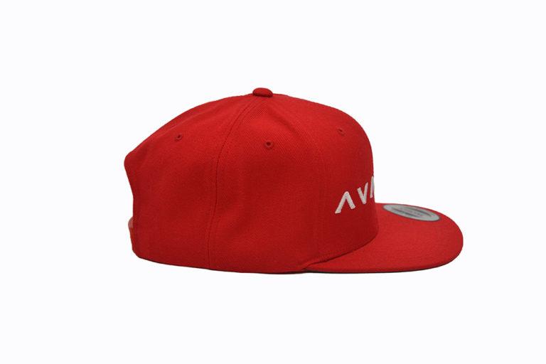 Snapback rood