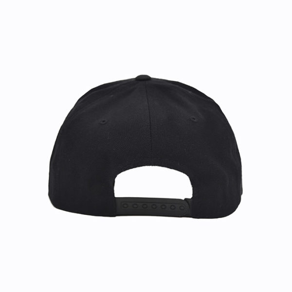 Snapback zwart