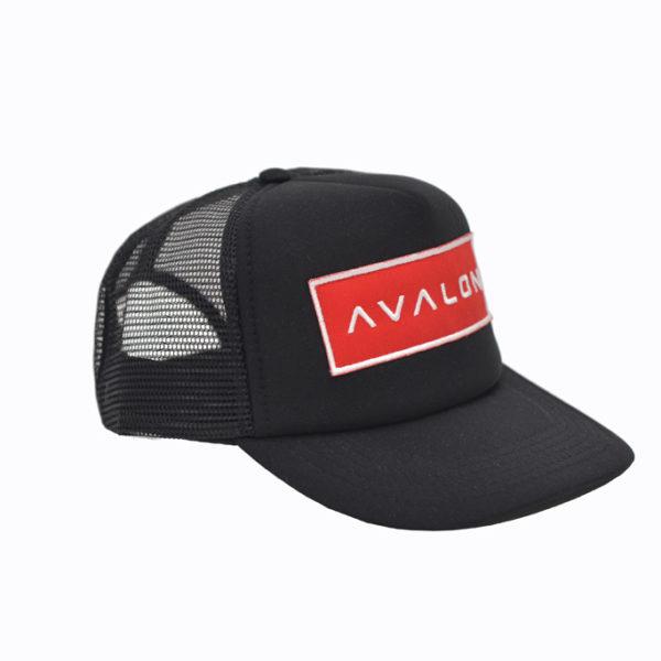 Trucker cap rode badge