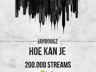 'Hoe Kan Je' 200k streams!