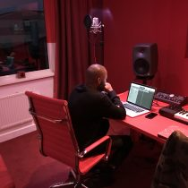 Jayh in de Avalon Studio!