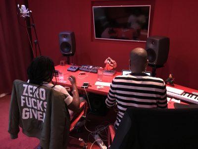 Jayh & Kalibwoy in de Avalon Studio! ??