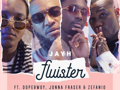 VRIJDAG nieuwe muziek van Jayh! 'Jayh – Fluister ft. Dopebwoy, Jonna Fraser & Zefanio'