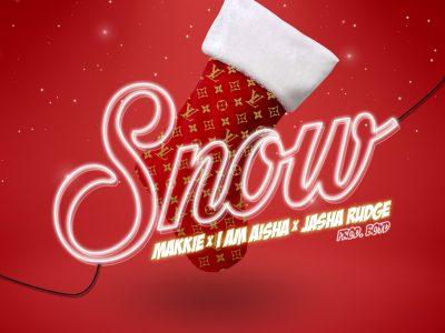 Vrijdag komt de nieuwe single 'Makkie x I Am Aisha x Jasha Rudge – Snow' uit ‼️