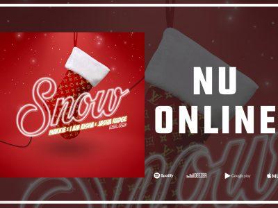 [NU ONLINE]: Snow is vanaf nu te beluisteren op Spotify ❄️🎄🔊