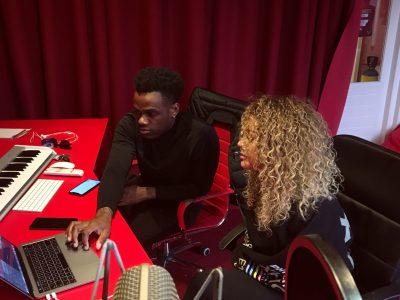 Vandaag hebben we Zefanio & Delany in de Avalon Studio ??
