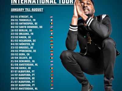 International tour Dopebwoy 🌎